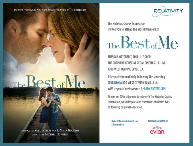 Want to Attend the Hollywood Premiere of The Best of Me?